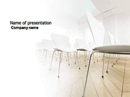 Business: Lecture Hall PowerPoint Template #03838