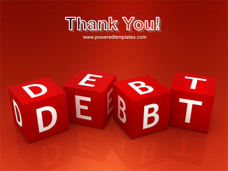Debt PowerPoint Template Slide 20