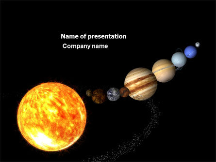 Planet Parade PowerPoint Template, 03842, Nature & Environment — PoweredTemplate.com