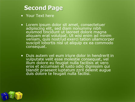 123 PowerPoint Template Slide 2