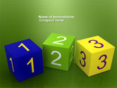 Business Concepts: 123PowerPoint模板 #03849