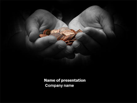 Money PowerPoint Template, 03850, Financial/Accounting — PoweredTemplate.com