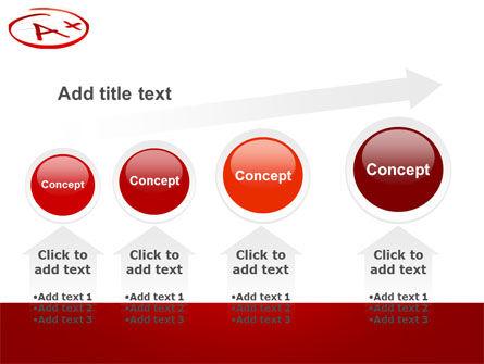 Excellent Grade PowerPoint Template Slide 13