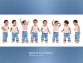 People: Baby Emotions PowerPoint Template #03852
