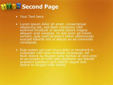 Team PowerPoint Template, Slide 2, 03855, Business Concepts — PoweredTemplate.com