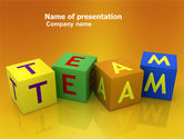 Business Concepts: Team PowerPoint Template #03855