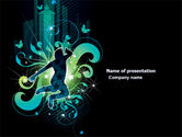 Art & Entertainment: Night City Life PowerPoint Template #03856
