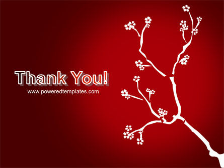 Flower Ornament PowerPoint Template Slide 20