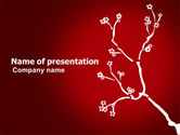 Flower Ornament PowerPoint Template#1