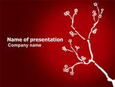 Nature & Environment: Ornament Van De Bloem PowerPoint Template #03857