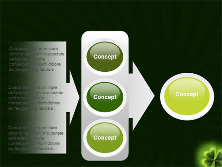 Clover Theme PowerPoint Template Slide 11