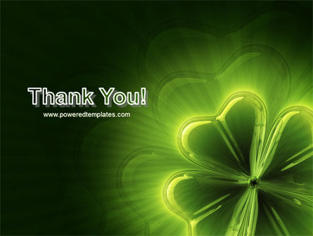 Clover Theme PowerPoint Template Slide 20