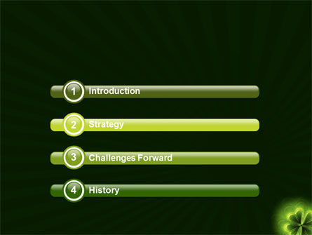 Clover Theme PowerPoint Template Slide 3