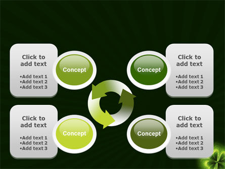 Clover Theme PowerPoint Template Slide 9