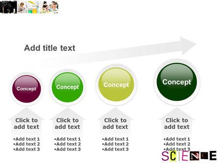 Science in School PowerPoint Template Slide 13