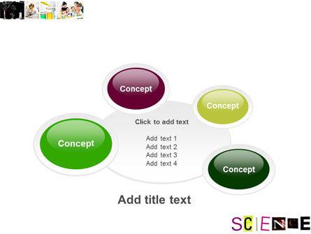 Science in School PowerPoint Template Slide 16