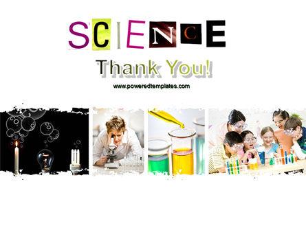 Science in School PowerPoint Template Slide 20