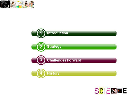 Science in School PowerPoint Template, Slide 3, 03859, Technology and Science — PoweredTemplate.com
