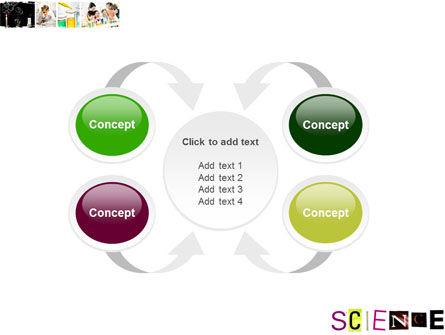 Science in School PowerPoint Template Slide 6