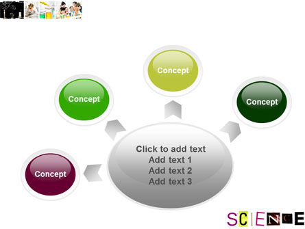 Science in School PowerPoint Template Slide 7