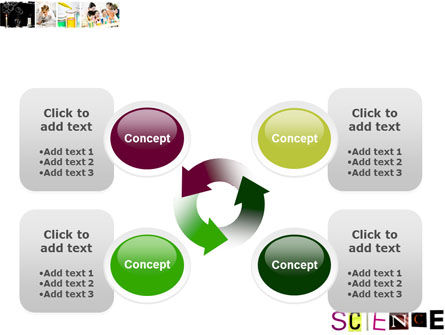 Science in School PowerPoint Template Slide 9