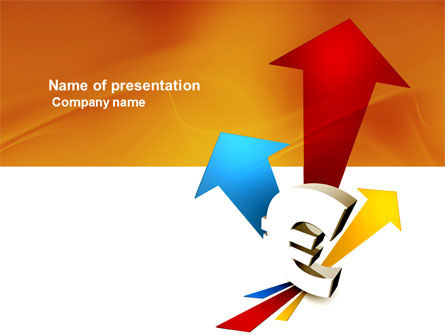 Financial/Accounting: Euro Rates PowerPoint Template #03862