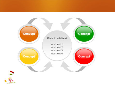 Drawing Chalk PowerPoint Template Slide 7