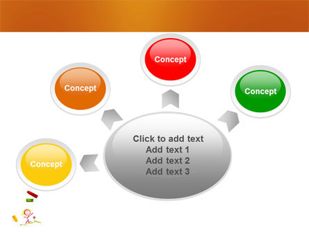 Drawing Chalk PowerPoint Template Slide 8