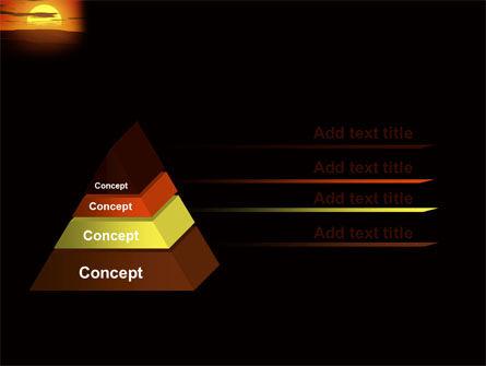 Sunset PowerPoint Template Slide 12