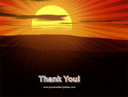Sunset PowerPoint Template Slide 20