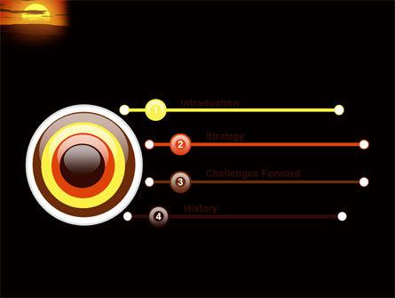 Sunset PowerPoint Template Slide 3