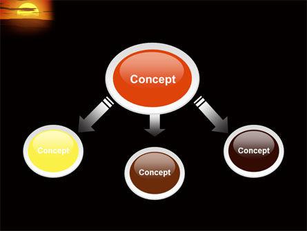 Sunset PowerPoint Template, Slide 4, 03871, Nature & Environment — PoweredTemplate.com