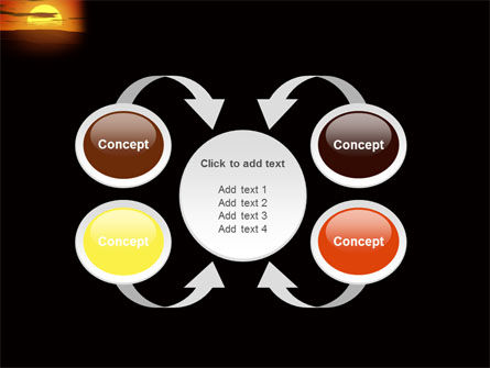 Sunset PowerPoint Template Slide 6
