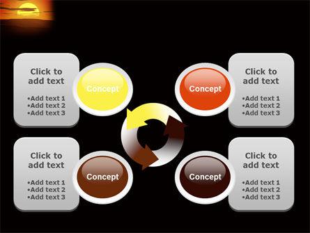Sunset PowerPoint Template Slide 9