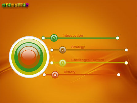Visual Education PowerPoint Template, Slide 3, 03875, Education & Training — PoweredTemplate.com