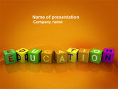 Education & Training: Visual Education PowerPoint Template #03875