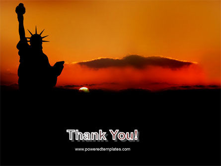 Sunset of Liberty PowerPoint Template Slide 20