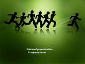 Business: Breakthrough PowerPoint Template #03877