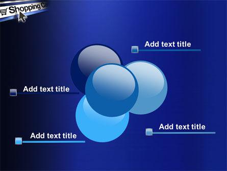 e-Shopping Cart PowerPoint Template Slide 10