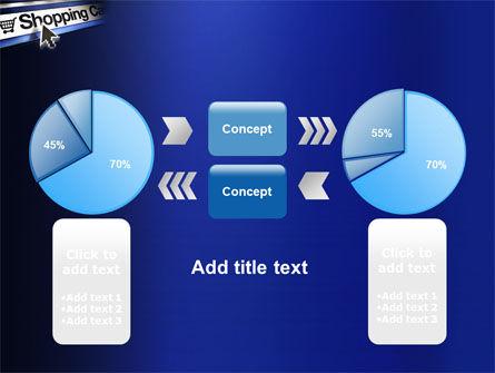 e-Shopping Cart PowerPoint Template Slide 11