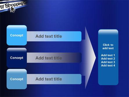 e-Shopping Cart PowerPoint Template Slide 12
