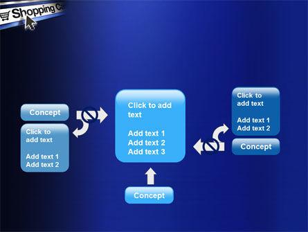 e-Shopping Cart PowerPoint Template Slide 13