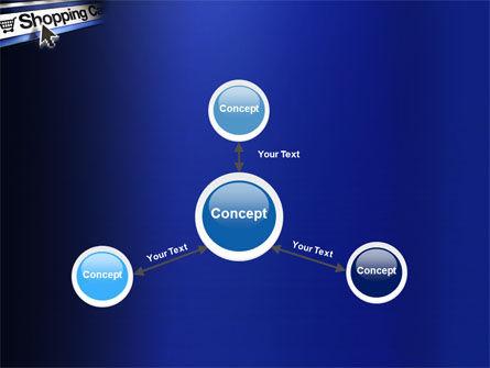 e-Shopping Cart PowerPoint Template Slide 14