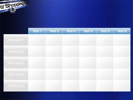 e-Shopping Cart PowerPoint Template Slide 15