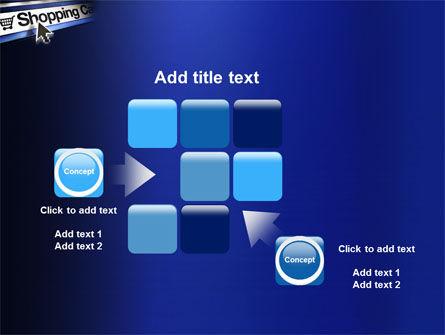 e-Shopping Cart PowerPoint Template Slide 16