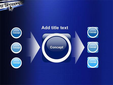 e-Shopping Cart PowerPoint Template Slide 17
