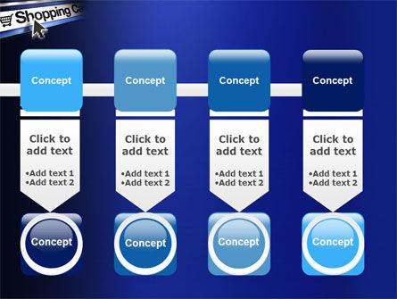 e-Shopping Cart PowerPoint Template Slide 18