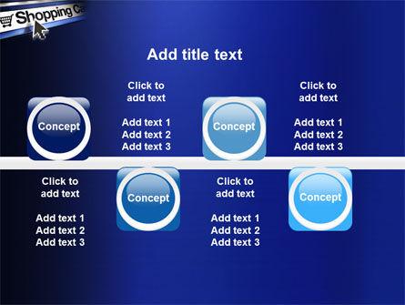 e-Shopping Cart PowerPoint Template Slide 19
