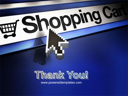 e-Shopping Cart PowerPoint Template Slide 20