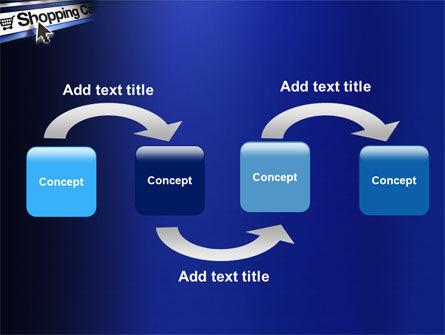 e-Shopping Cart PowerPoint Template Slide 4